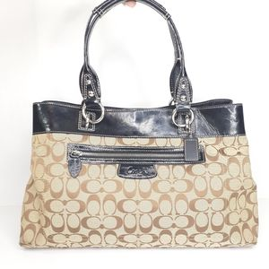 Coach Penelope Gallery Tote EW Satchel Bag Purse